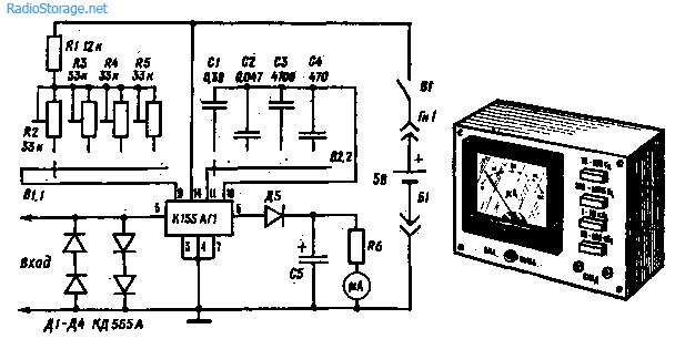 Схема простого аналогового