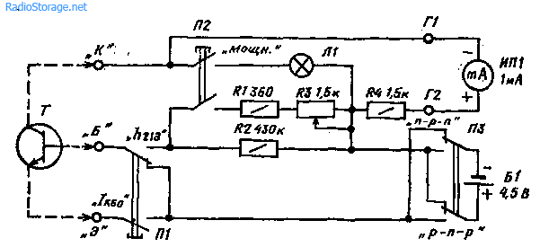 биполярных транзисторов