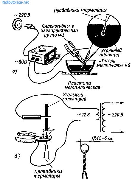 Как изготовить термопару для датчиков температур