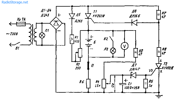 Схема автоматического