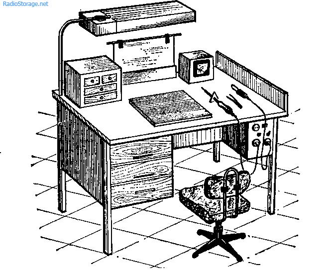 Рабочее место радиомонтажника