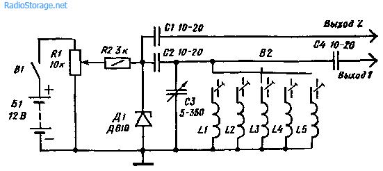 Простейший сигнал-генератор на