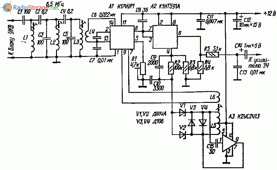 Промежуточная частота супергетеродинный