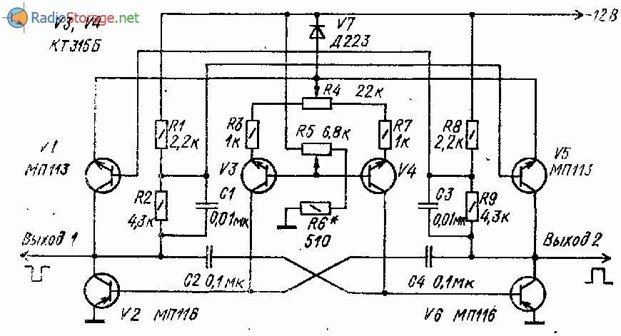 Транзисторный генератор