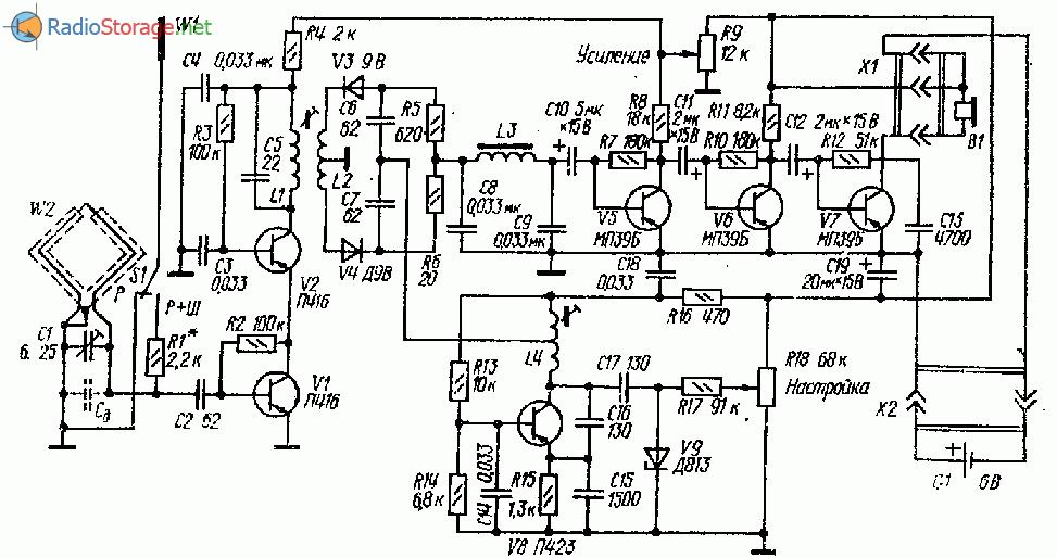 Транзисторный приемник
