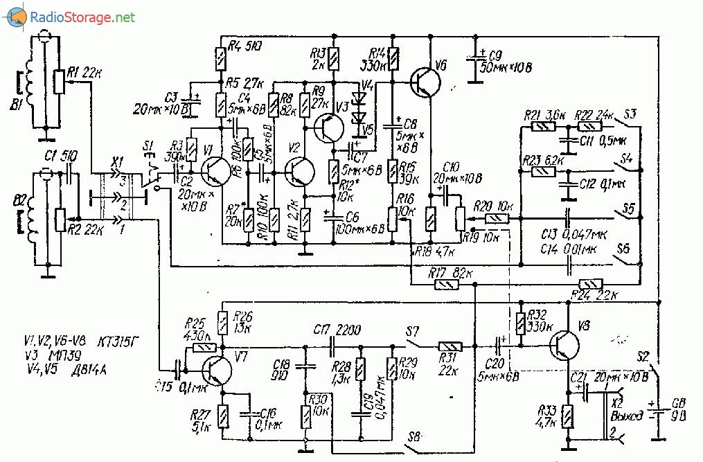 Транзисторный синтезатор для