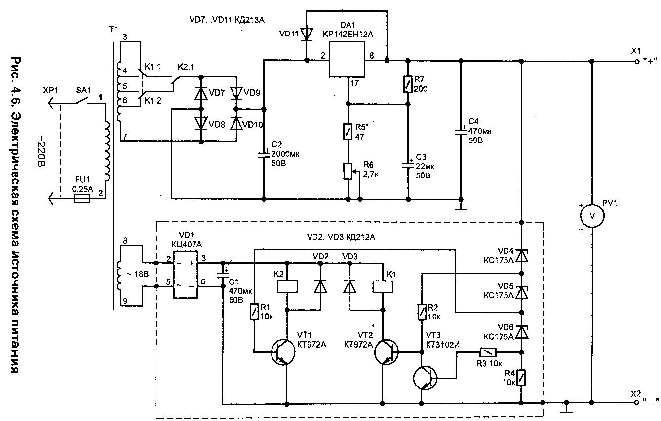 к142ен12a схемы включения