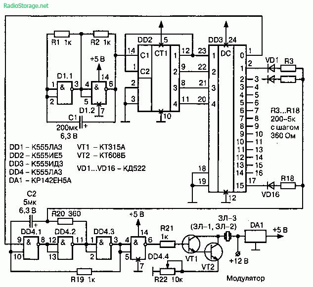 Защита от лазерного детектора