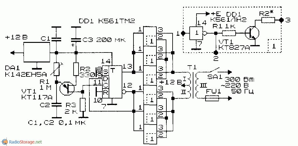 Схема преобразователя