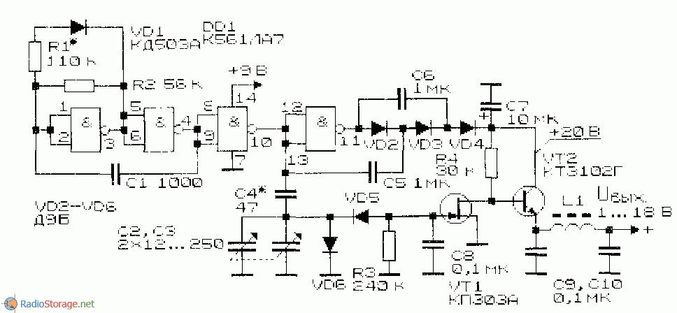 Схема регулируемого