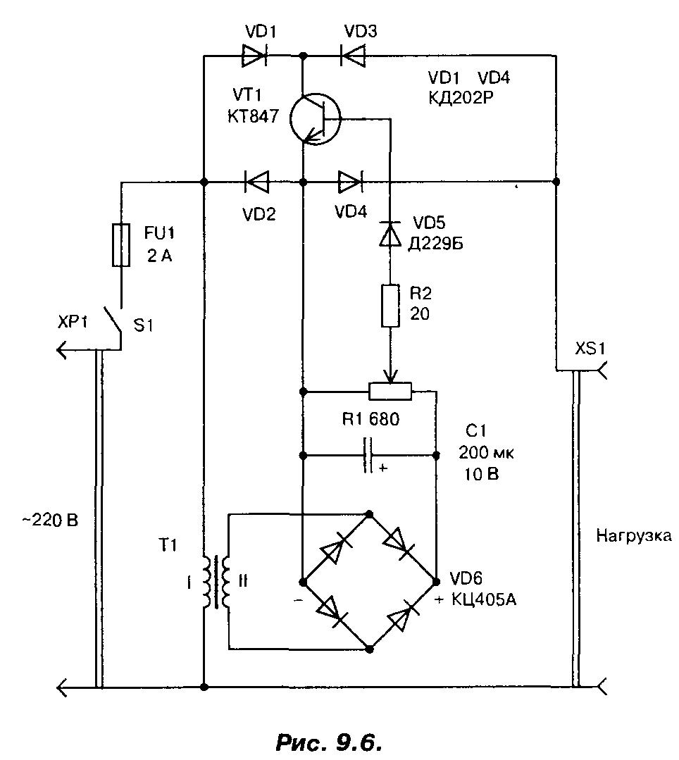 Схема стабилизатор напряжения 220в для дома фото 619