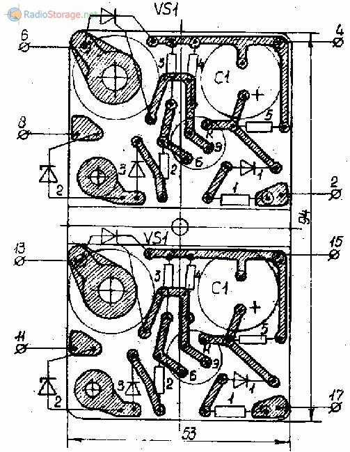 Печатная плата для устройства