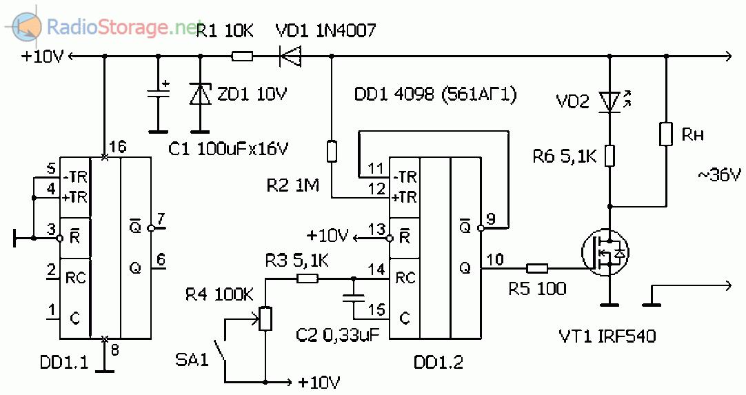 Схема регулятора для паяльника своими руками 94
