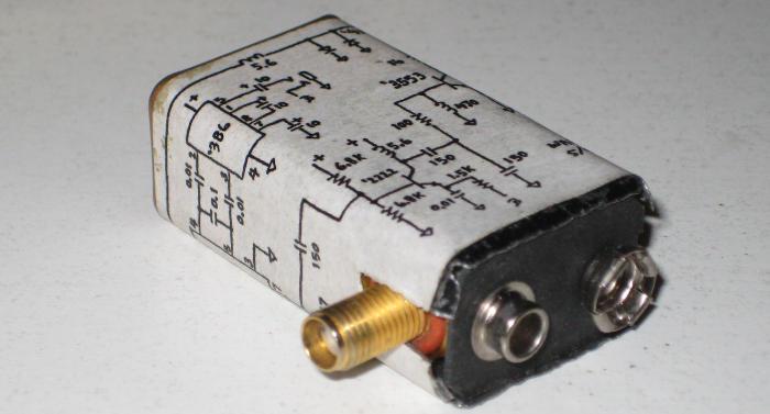 батареи КРОНА (40м), схема