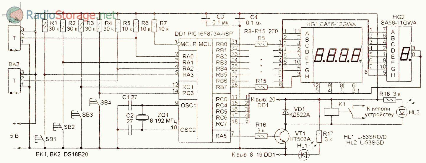Пластинчатый теплообменник ГВС: схема обвязки и расчет 26