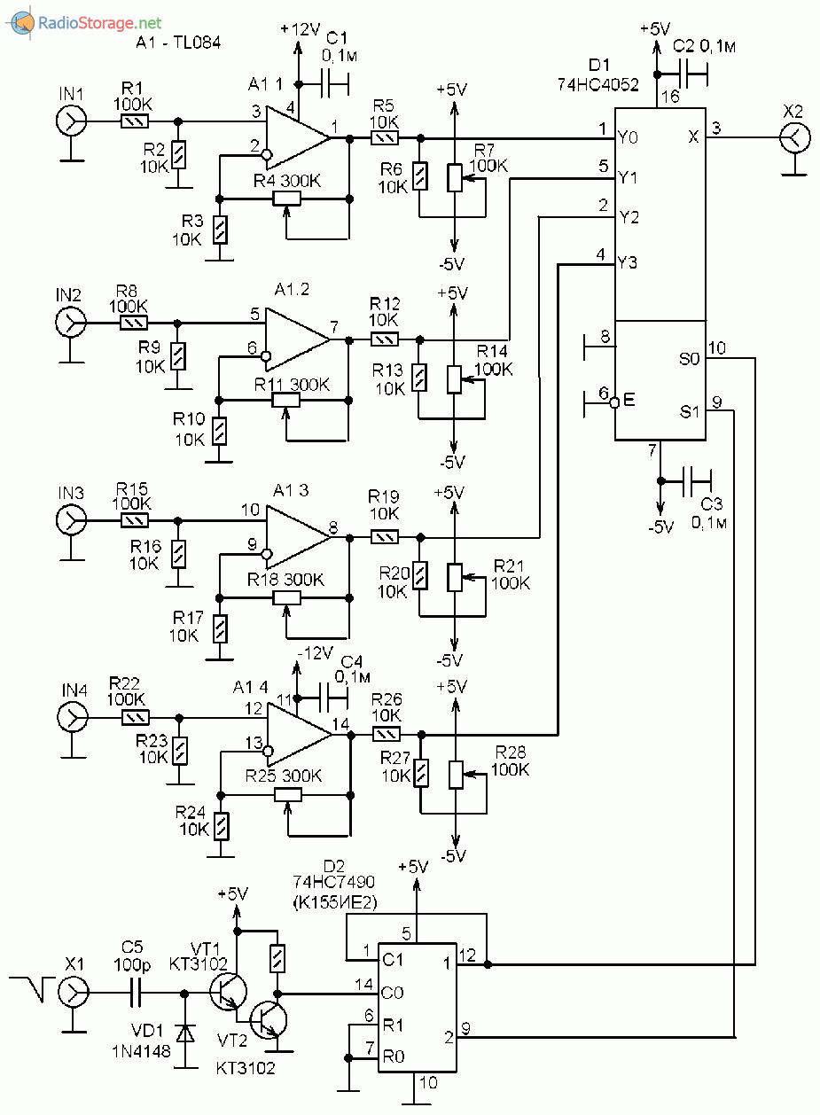 Ремонт осциллографа с1-94 своими руками 46