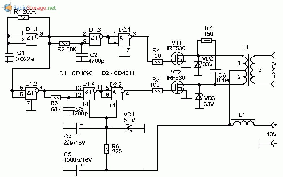 Схема инвертора чистой синусоиды фото 270
