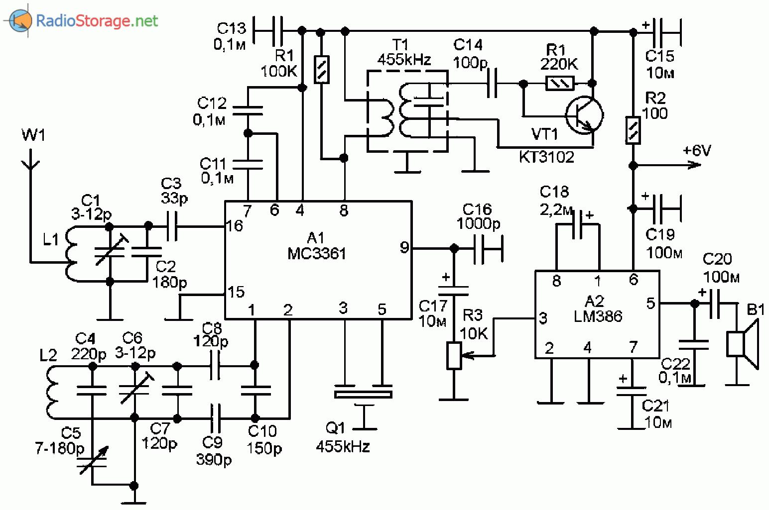 Схемы с радио микросхемами фото 858