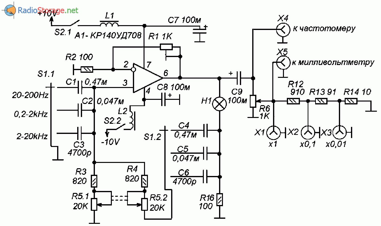 Схемы на микросхеме кр140уд708