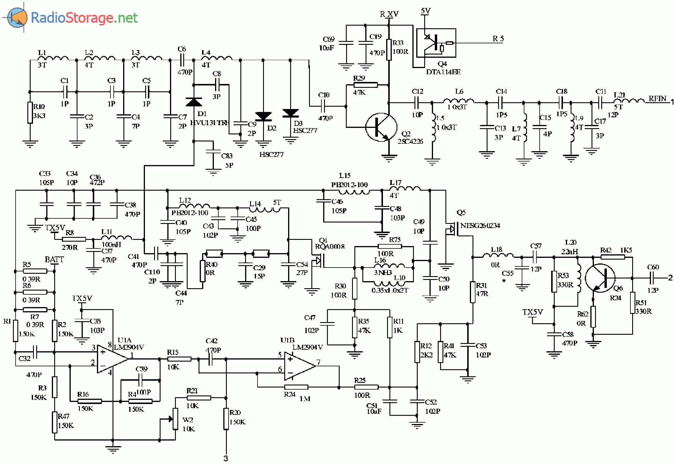 Схемы радиостанций и трансиверов, усилители и трансвертеры