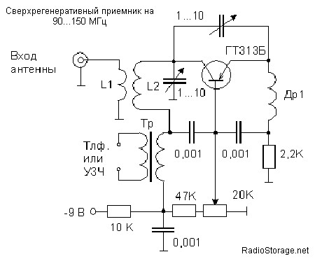 Детали радиоприемника