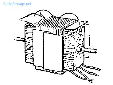 Бескаркасная намотка катушки трансформатора