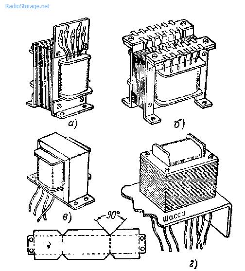 Сборка трансформатора