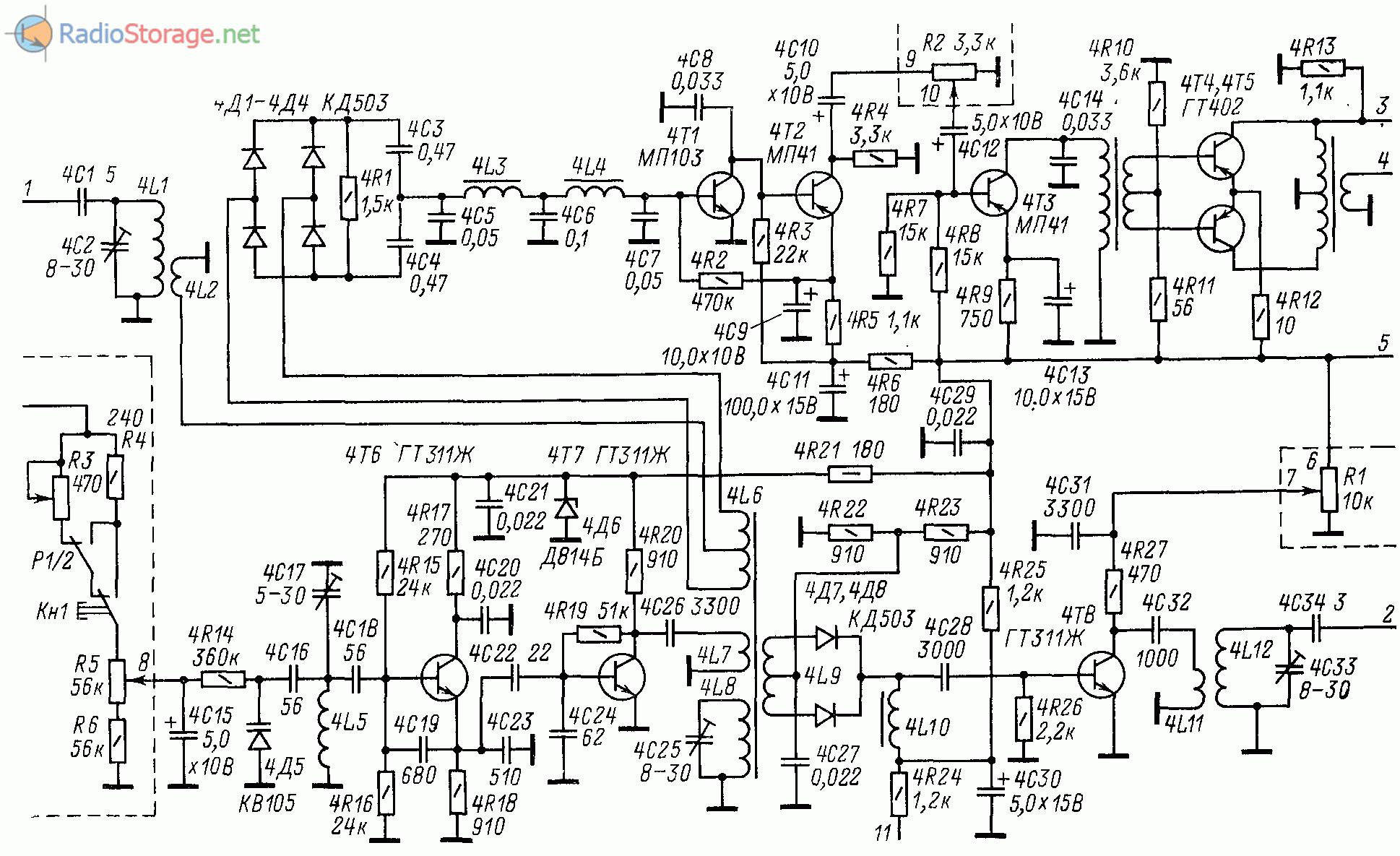схема простого радиопередатчика 430 мгц