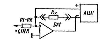 Принцип работы омметра мультиметра