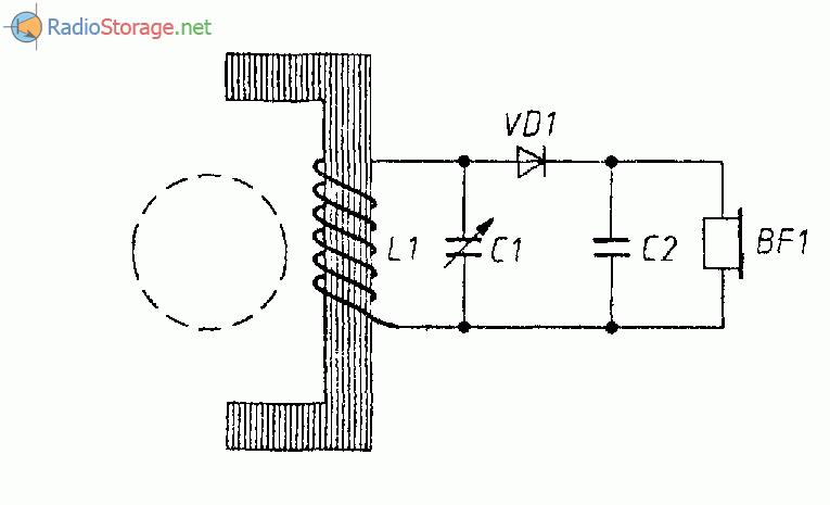 Детекторный приемник (антенна