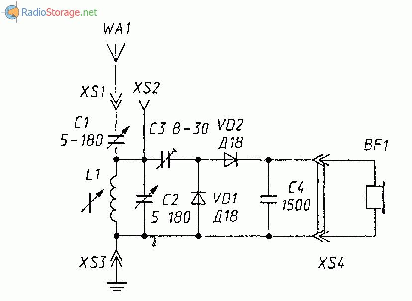 детекторного приемника