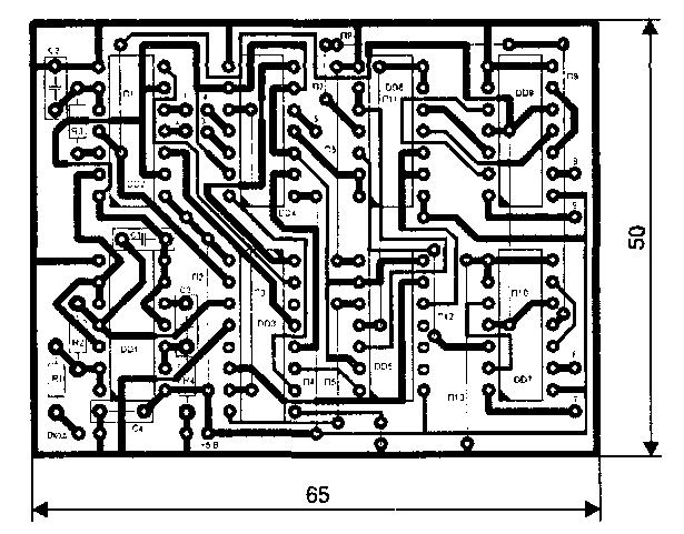 мультивибратор схема - Всемирная схемотехника.