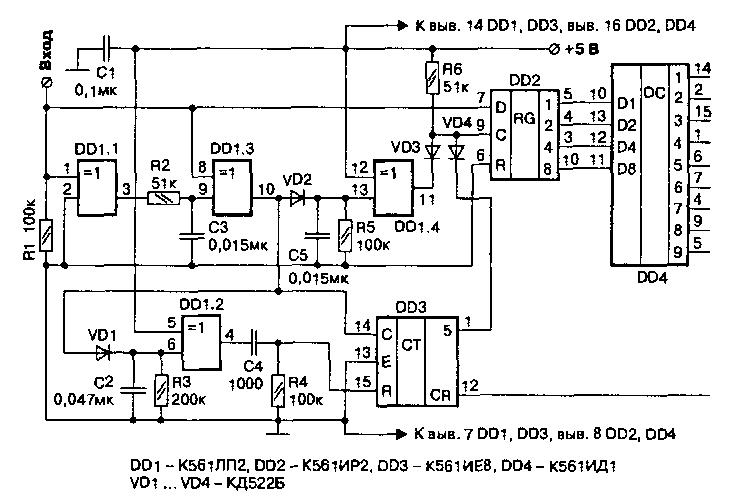 Дешифратор кодово-импульсных
