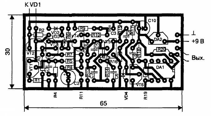 ИК - приемник на транзисторах