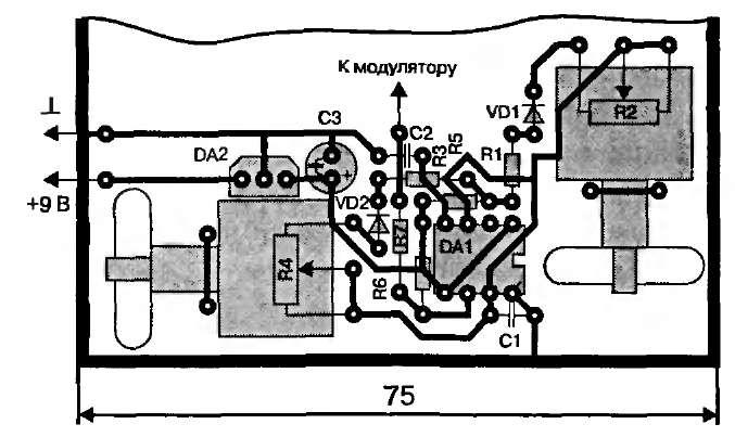 схема на таймере кр1006ви