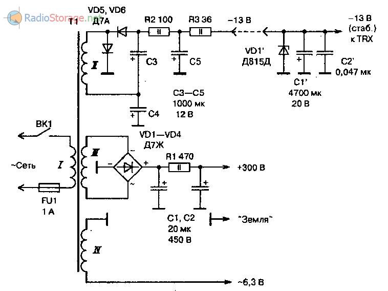Схема автомобильного компрессометр