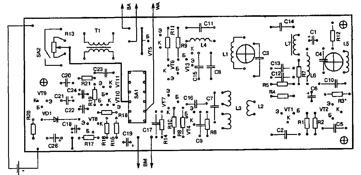 Транзисторы П416 можно